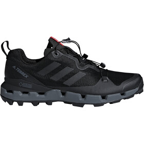 adidas TERREX Fast GTX-Surround Buty Mężczyźni, core black/grey five/hi-res red